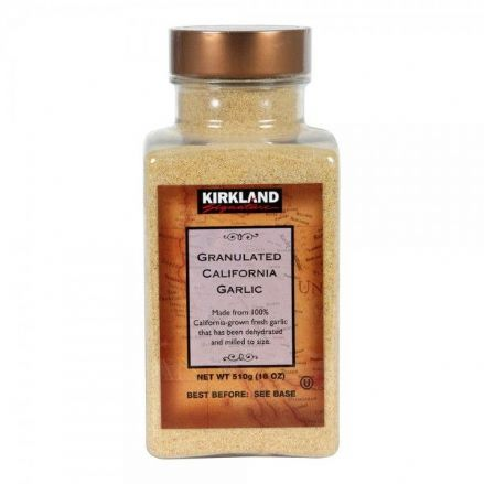 Kirkland Signature Granulated California Garlic 510g